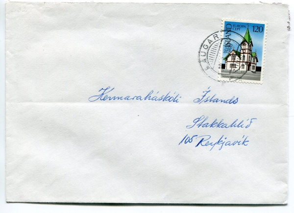 1980 | F568 Single Franking 120 kr. Laugar image